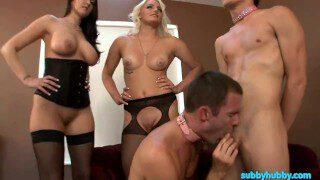 Two Mistresses Make Slaves Bi